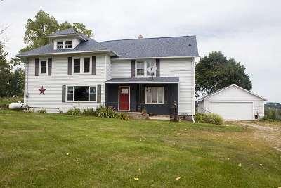 Waterloo Single Family Home For Sale: W8594 Dunneisen Ln