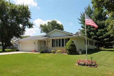 Janesville Single Family Home For Sale: 1609 Alden Rd