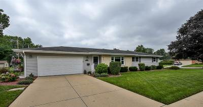 Janesville Single Family Home For Sale: 1606 Elida St