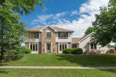 Madison Single Family Home For Sale: 3821 Woodstone Dr