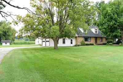 Beloit Single Family Home For Sale: 4900 E County Road S