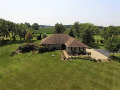 Milton Single Family Home For Sale: 704 E J F Townline Rd