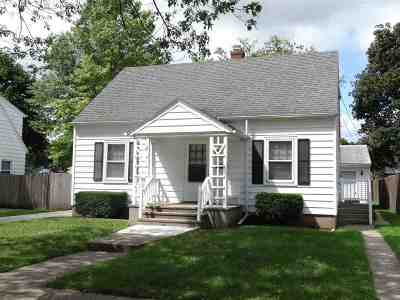 Beloit Single Family Home For Sale: 1022 Cleveland St