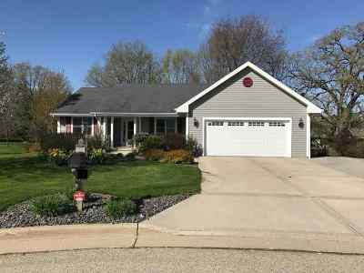 Columbus Single Family Home For Sale: 111 Hillcrest Ct