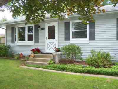 Beloit Single Family Home For Sale: 1403 Townline Ave.
