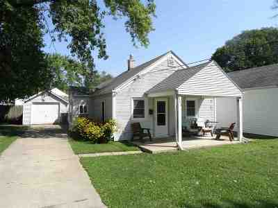 Beloit Single Family Home For Sale: 1743 Forest Ave.