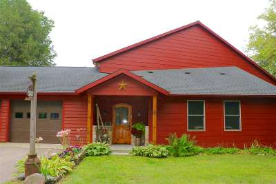 Janesville Single Family Home For Sale: 3850 S River Rd