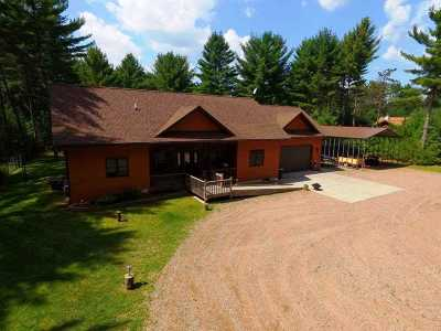 Woodruff WI Single Family Home For Sale: $265,000