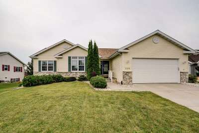 Deforest Single Family Home For Sale: 331 Country Clover Dr