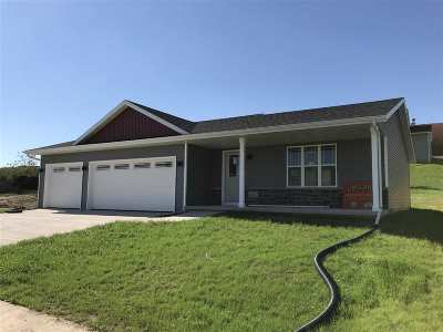 Edgerton Single Family Home For Sale: 561 Falk Dr