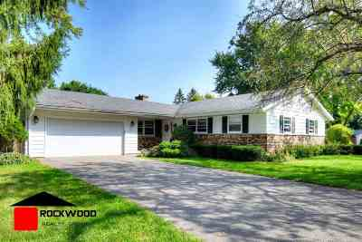 Fitchburg Single Family Home For Sale: 5618 Barbara Dr