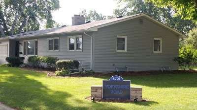 Madison Single Family Home For Sale: 5721 Yorkshire Rd