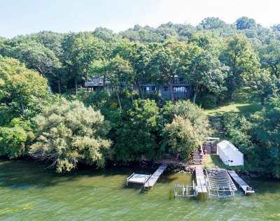 Madison Single Family Home For Sale: 3012 Lake Mendota Dr