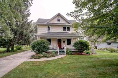 Deforest Single Family Home For Sale: 614 Deforest St