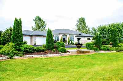 Green County Single Family Home For Sale: W5254 Highland Dr