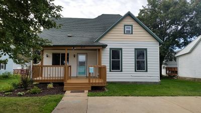 Dodgeville Single Family Home For Sale: 217 E Merrimac St