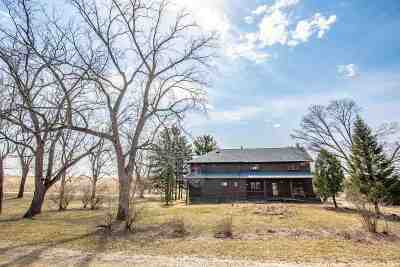 Green County Single Family Home For Sale: N8387 County Road A