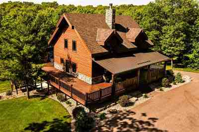 Wisconsin Dells Single Family Home For Sale: E9565 South Ave
