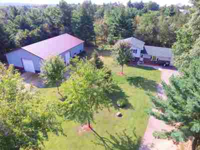 Wisconsin Dells Single Family Home For Sale: 835 County Road A