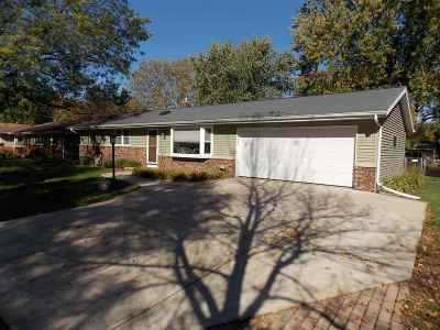 Madison WI Single Family Home For Sale: $197,500