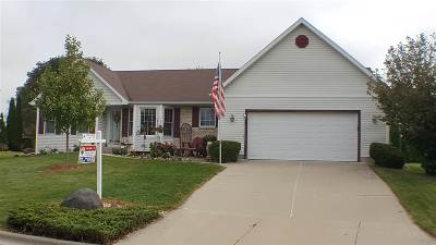Sun Prairie Single Family Home For Sale: 1222 Meadowlark Tr