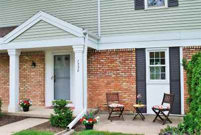 Madison Condo/Townhouse For Sale: 7358 Old Sauk Rd