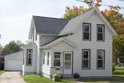 Jefferson Single Family Home For Sale: 314 W Ryder St