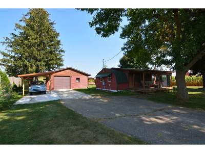 Mazomanie Single Family Home For Sale: 10224 E Mathewson Rd