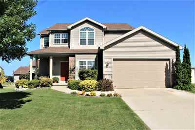 Sun Prairie WI Single Family Home For Sale: $274,900