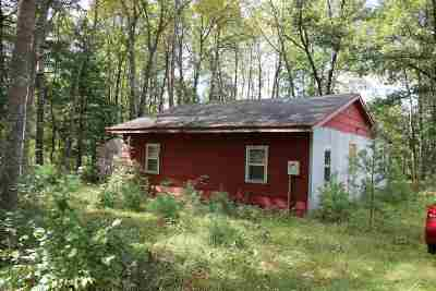 Friendship WI Single Family Home For Sale: $24,900