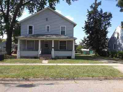 Janesville WI Single Family Home For Sale: $58,000