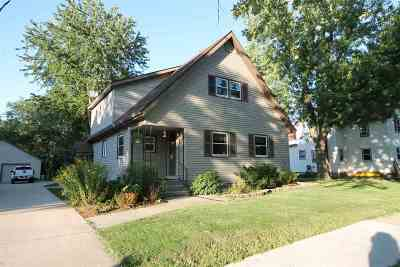 Milton Single Family Home For Sale: 106 W Madison Ave