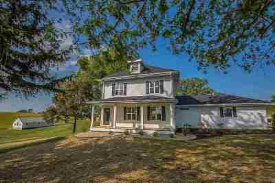 Green County Single Family Home For Sale: W3907 Exeter Crossing Rd