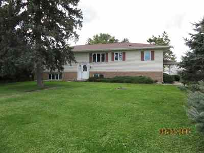 Evansville Single Family Home For Sale: 9813 N Hwy 14