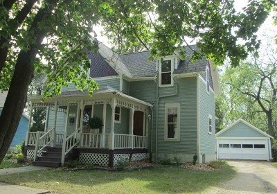 Evansville Single Family Home For Sale: 123 Highland Street
