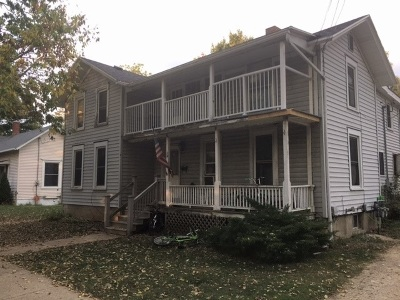 Evansville Single Family Home For Sale: 34 N 2nd St