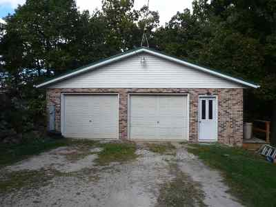Marshall Single Family Home For Sale: 5180 Tower Line Rd
