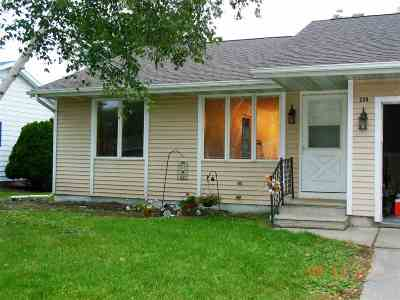 Milton Condo/Townhouse For Sale: 224 N Clear Lake Ave