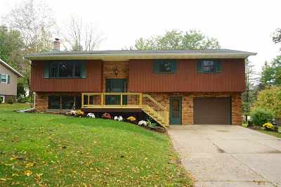 Dodgeville Single Family Home For Sale: 504 Woodview Ln