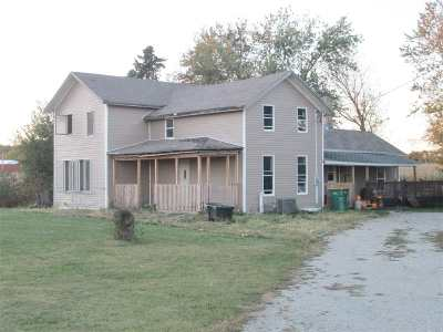 Evansville Single Family Home For Sale: 10946 W Hwy 14