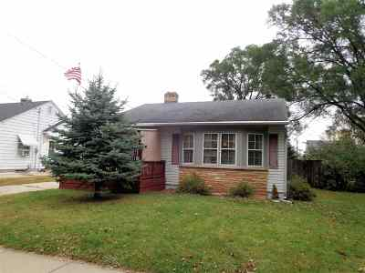 Beloit Single Family Home For Sale: 829 Cleveland St