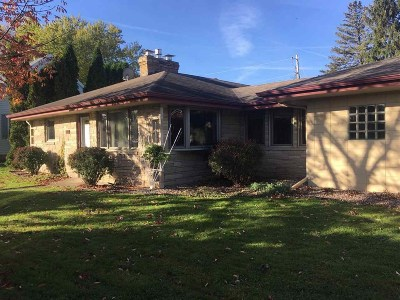 Verona Single Family Home For Sale: 302 S Jefferson St