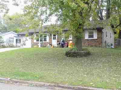 Janesville WI Single Family Home For Sale: $145,000