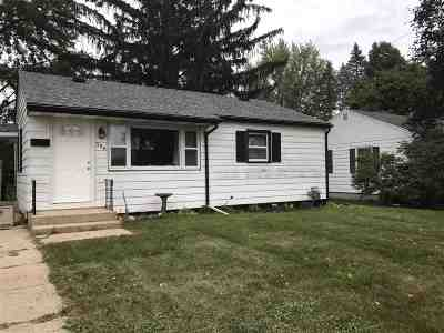 Edgerton Single Family Home For Sale: 306 South St