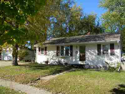 Beloit Single Family Home For Sale: 1705 House St