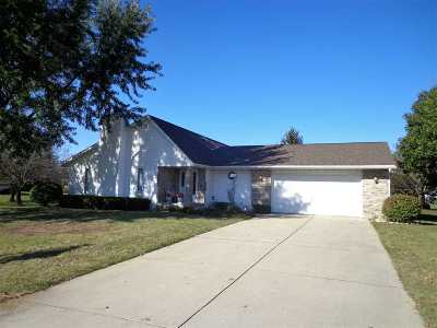 Beloit Single Family Home For Sale: 1609 E Zick Dr