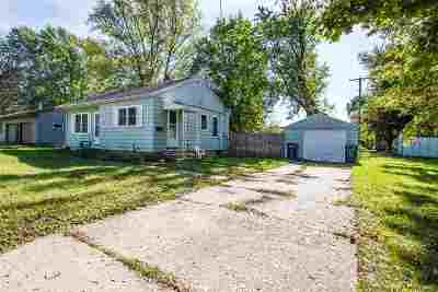 Janesville Single Family Home For Sale: 407 Kellogg Ave