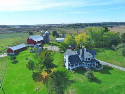 Green County Single Family Home For Sale: W4537 Argue Rd