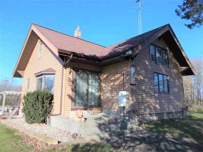 Pardeeville Single Family Home For Sale: N6768 Wolfgram Rd