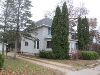Adams WI Single Family Home For Sale: $84,500